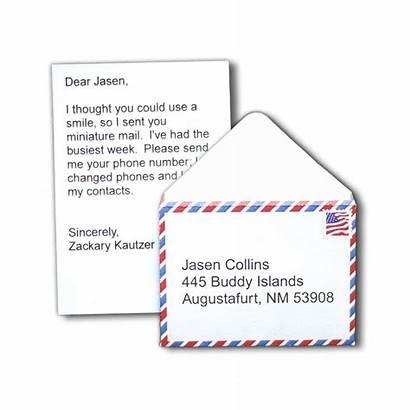 Letter Mail Letters Miniature Custom Boyfriend Gifts