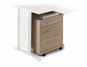 Rollcontainer Sonoma Eiche : office line rollcontainer eiche sonoma ~ Lateststills.com Haus und Dekorationen