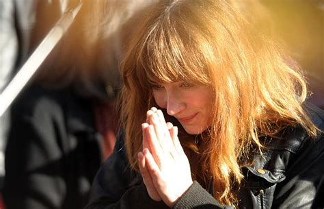 elisabeth depardieu funeral carla bruni sarkozy attends the funeral of french actor