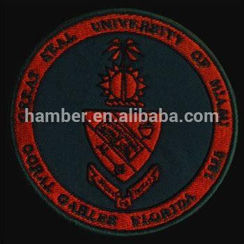 custom logo university embroidery patch buy university embroidery patch china embroidery