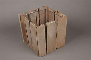 Cache Pot Bois : cache pot en bois ~ Teatrodelosmanantiales.com Idées de Décoration