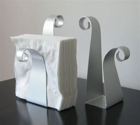 napkin holders scroll napkin holder