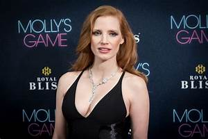 Jessica Chastain and Her Cleavage Keep It Classy