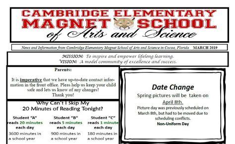 cambridge elementary magnet homepage