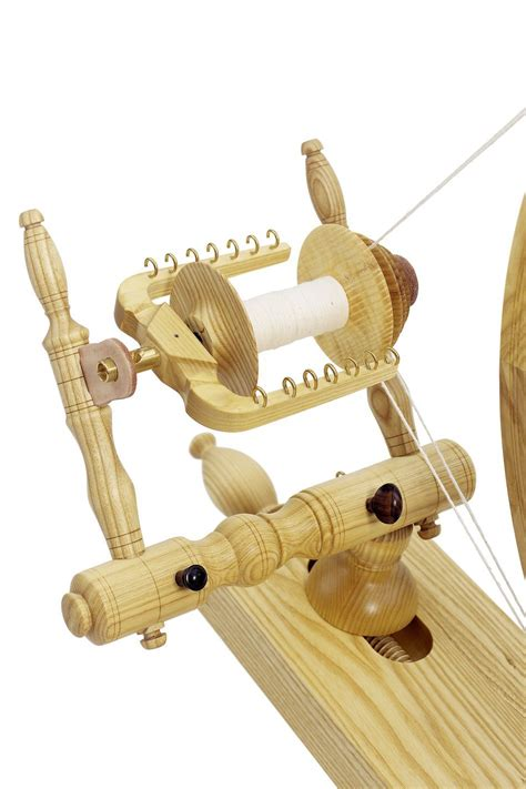 Schacht Reeves Spinning Wheel Double Treadle Ash