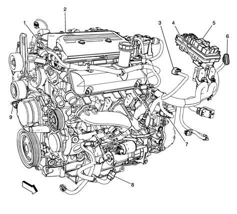 Malibu Engine Diagram Auto Parts Catalog