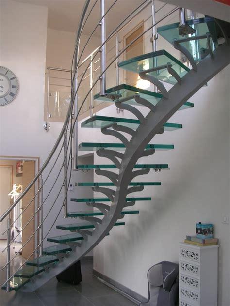 escalier m 233 tallique 224 limon centrale d 233 billard 233 en acier reconstitu 233 et thermolaqu 233 sarl