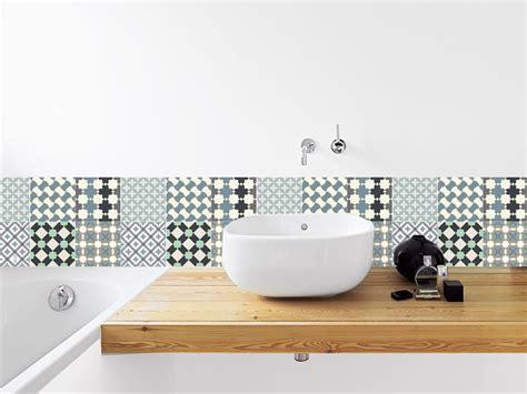 frise cuisine autocollante carrelage salle de bain avec stickers mosaique salle de