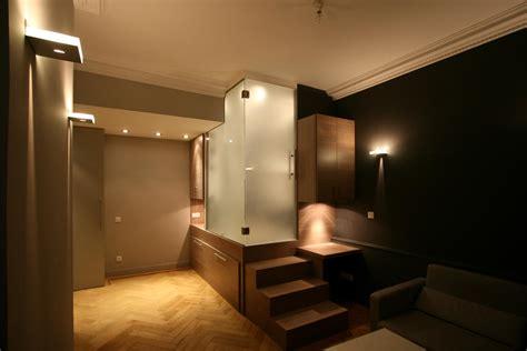 cr馥r une chambre dans un studio idee deco interieur appartement photos de conception de maison elrup com