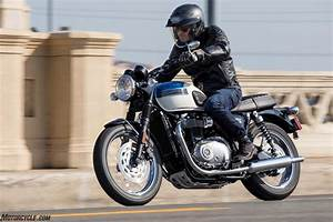 [motorcycle.com] - 2017 Triumph Bonneville T100 First Ride ...