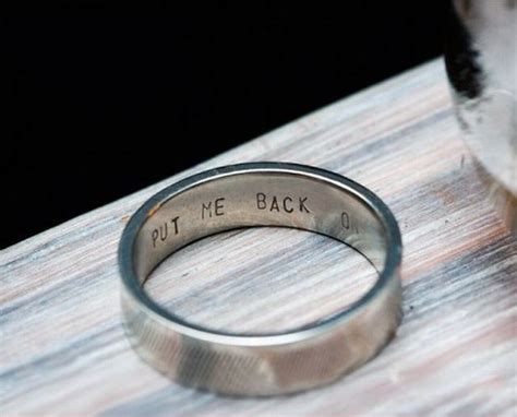 overly attached girlfriend s wedding ring for her