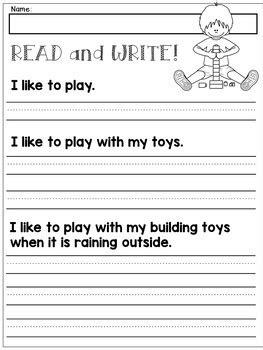 first grade handwriting practice expanding simple sentences tpt