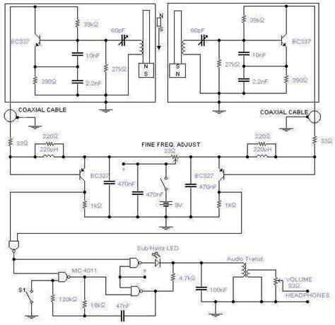 Metal Detector Circuit Page Sensors Detectors Circuits