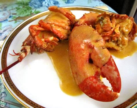cuisiner le homard congelé homard à l armoricaine