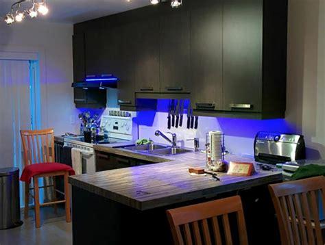 ruban led cuisine luminaire l éclairage led pour une ambiance cocooning et design