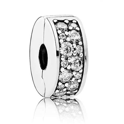 pandora shining elegance clip cz  gift  wrap uk