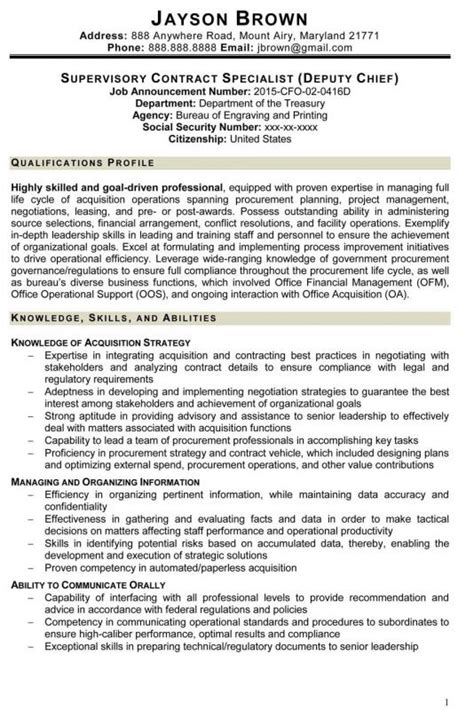 Usajobs Resume Exle by Usajobs Resume Template Shatterlion Info
