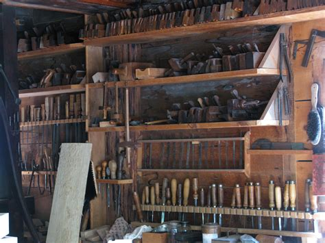 workshop hand tool storage  upper canada village