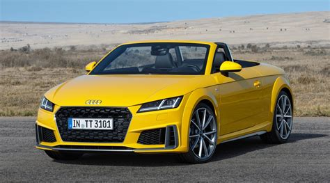 Audi Tts Coupe 2019 by 2019 Audi Tt Unveiled With Facelift