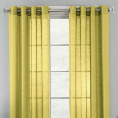 buy 63 inch sheer curtain panel from bed bath beyond
