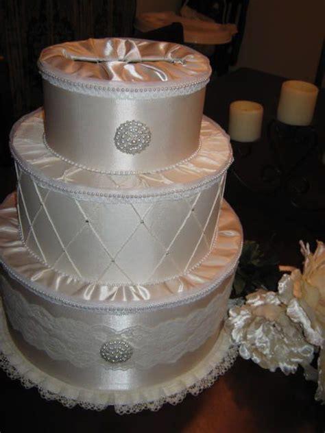 cardbox wedding bride diy white ivory reception elegant