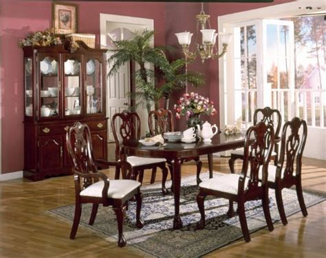 Cherry Wood Dining Room Furniture Marceladickcom