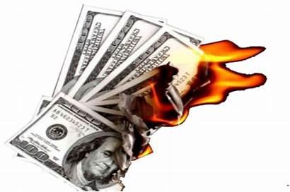Money Burning Lottery Transparent Burn Ruin Winning