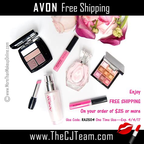 May Free Shipping With Avon  More Than Makeup Online
