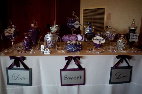 Candy Buffet Ideas For Wedding Decorating Of Party