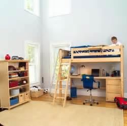 bedroom inspiring loft bunk bed with desk ideas for