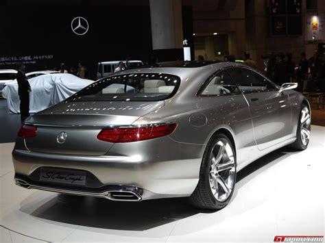 tokyo  mercedes benz  class coupe concept gtspirit