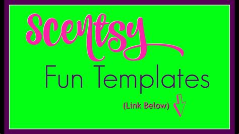 scentsy marketing templates  grow  direct sales
