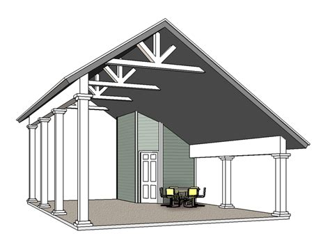 Motorhome Carport Plans by The Garage Plan Shop 187 Rv Garage Plans