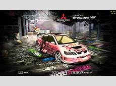 Need For Speed Most Wanted Mitsubishi Lancer Evolution