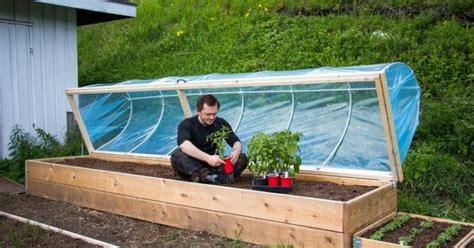 diy hinged hoop house  raised bed  prepared page