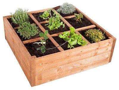 idee deco fabriquer  bac  plantes soi meme jardin