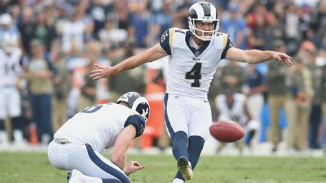 los angeles rams kicker greg zuerlein expected  play