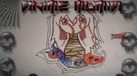 dibujo momia anime especial halloweenno youtube