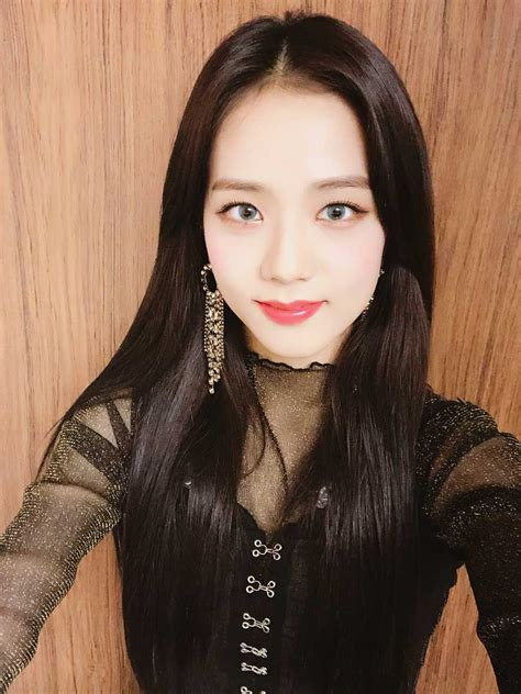 Im soo hyang, ji soo, and more discuss their characters and what they found captivating about when i was the most beautiful. Blackpink-Jisoo-selfie-5-Instagram-Photo-April-2018