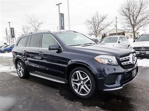 Based on model year epa mileage ratings. Certified Pre-Owned 2017 Mercedes-Benz GLS450 4MATIC SUV SUV in Kitchener #K4005 | Mercedes-Benz ...
