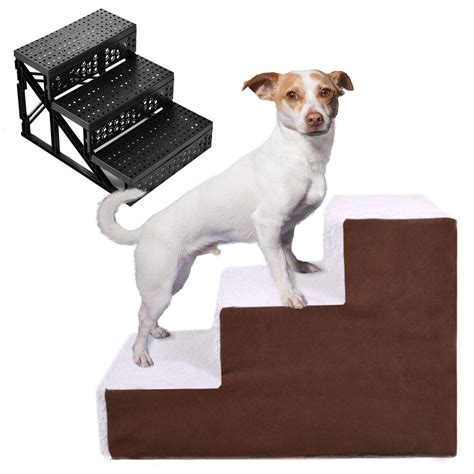 dog pet stairs cat steps indoor ramp portable folding