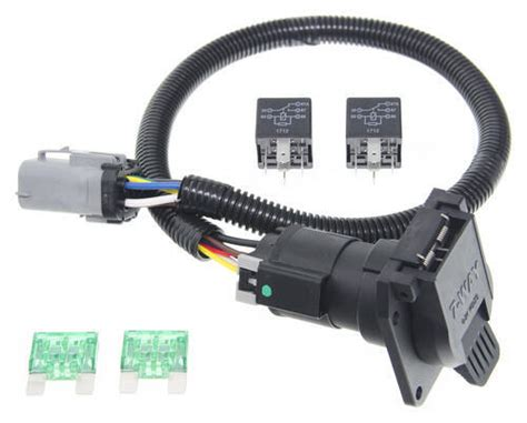 99 F250 Trailer Wiring Harnes by Ford Replacement Oem Tow Package Wiring Harness 7 Way