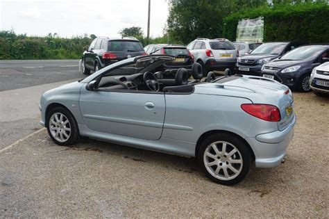 Used 2004 Peugeot 206 CC Coupe Cabriolet SE for sale in