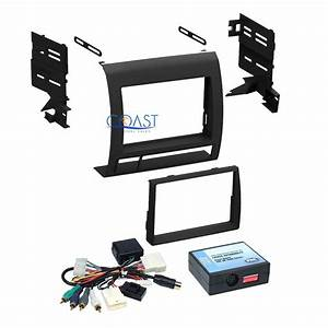Car Radio Stereo Black Dash Kit Jbl Wiring Harness For