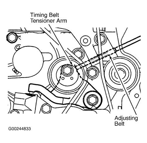 Mitsubishi Belt Diagram by 2003 Mitsubishi Lancer Serpentine Belt Routing And Timing