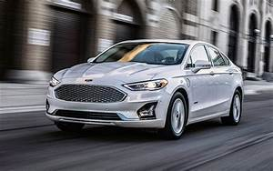 Download Wallpapers 2020  Ford Fusion  Front View  Exterior  White Sedan  New White Fusion