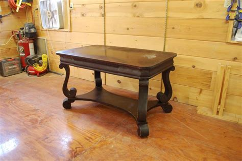 Antique Table Refinish Project Capital District, Saratoga Ny