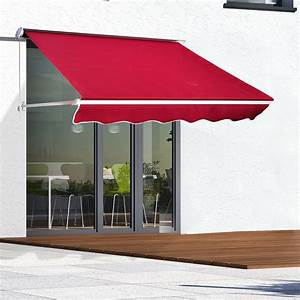6ft Drop Arm Manual Retractable Door Window Awning Canopy
