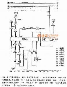 Jetta Airbag System Schematic - Automotive Circuit - Circuit Diagram