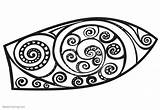 Surfboard Coloring Pages Pattern Printable Adults Bettercoloring sketch template